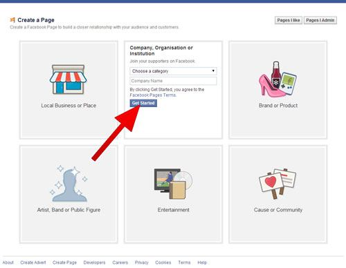 how to change email address on facebook business page