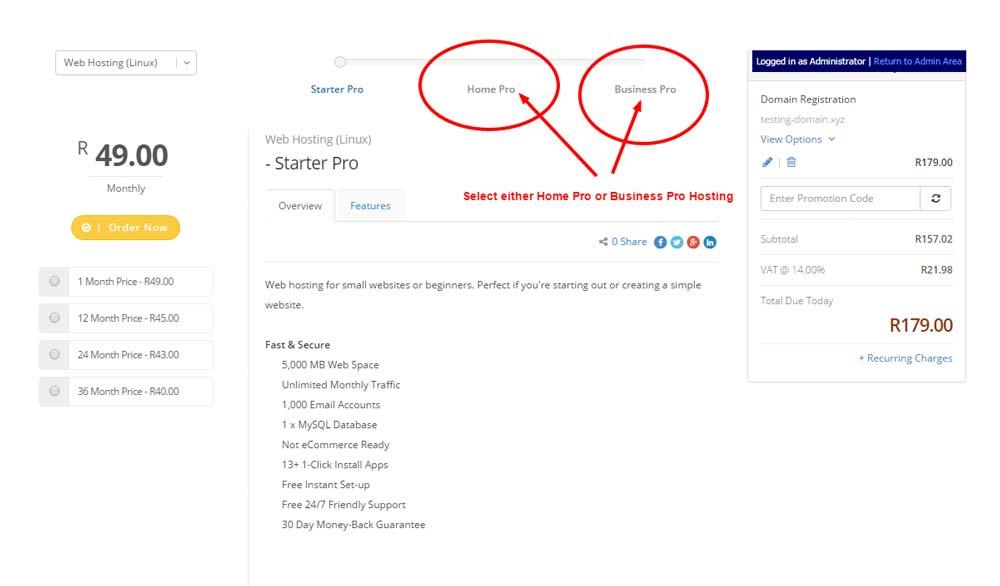 XYZ Domain Names - Step 4