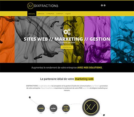Create A Website Like Dixfractions