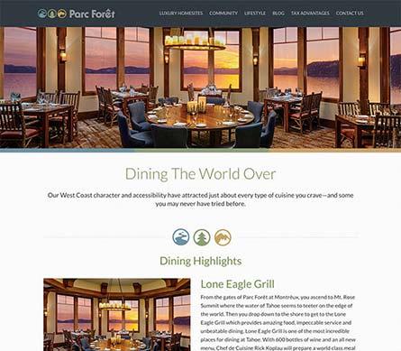 Create a Website Like Parc Forêt