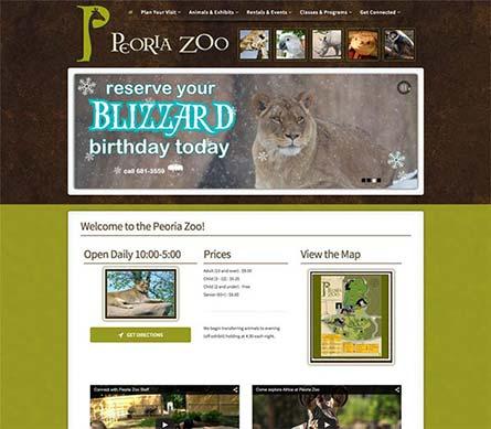 Create a Website Like Peoria Zoo