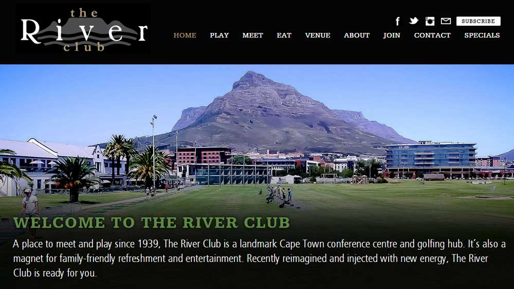 River Club Benefits From Rock Solid Web Hosting