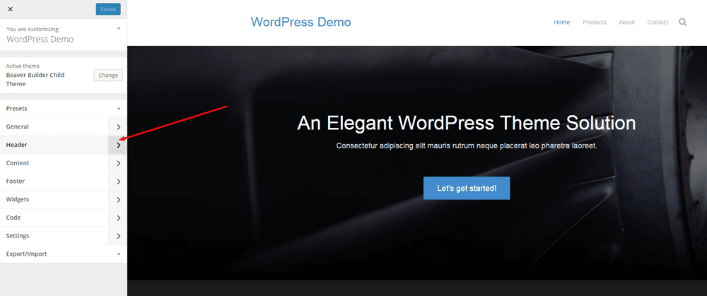 Change WordPress Logo - Step 1