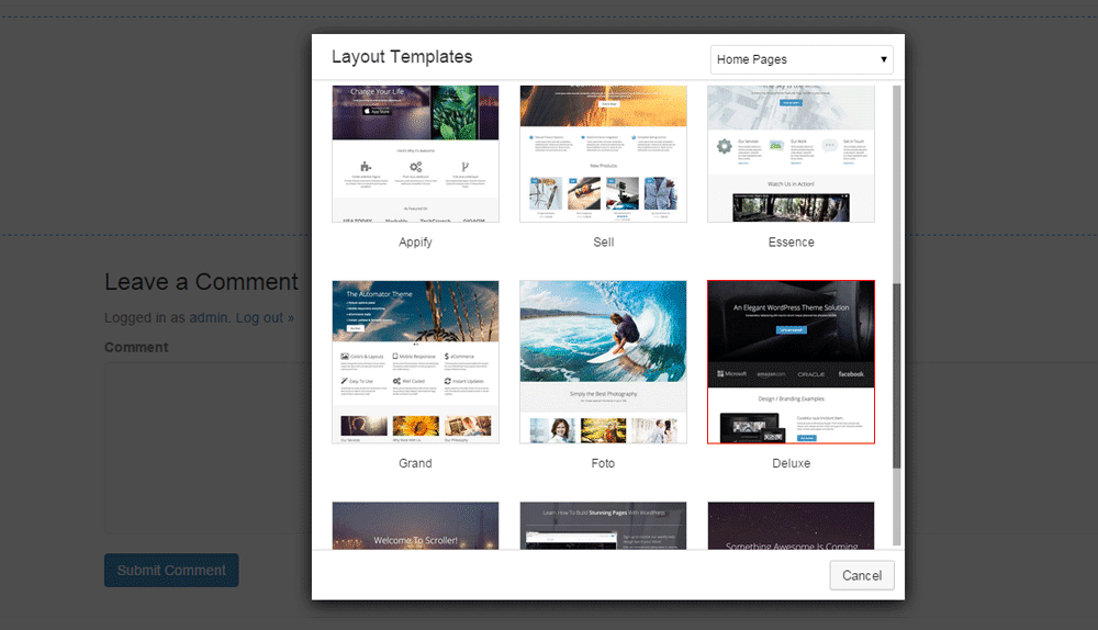 create-front-page-wordpress-step4