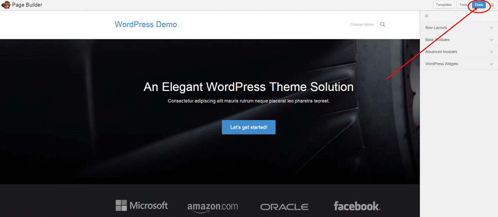 Create Front Page in WordPress - Step 5