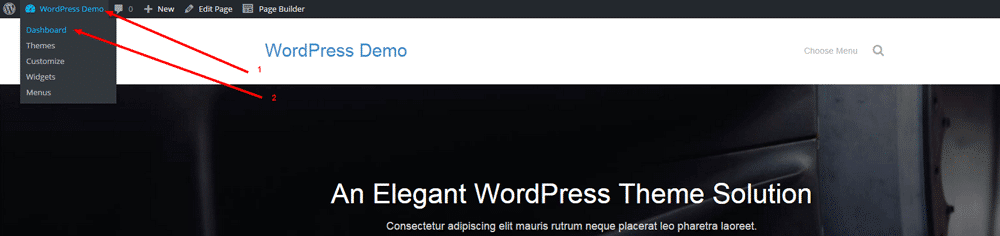 Create Front Page in WordPress - Step 6
