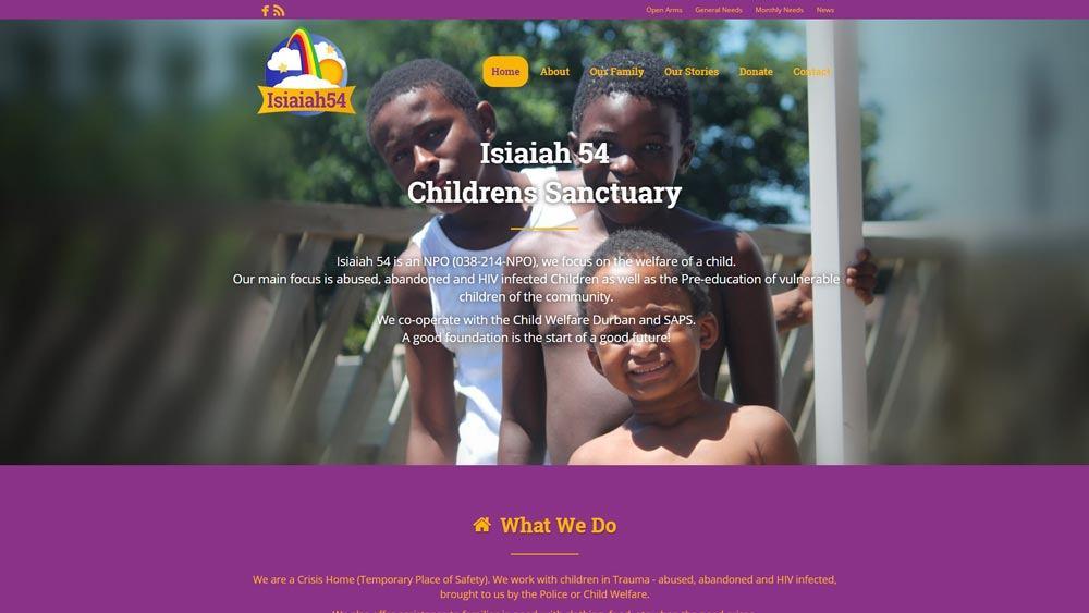 Our Work Isiaiah 54