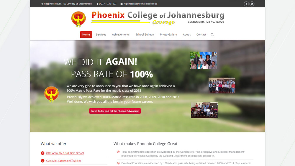 Our Work Phoenix College