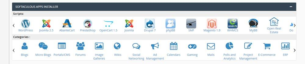 Web Hosting Guide - 1-Click Install Apps like WordPress