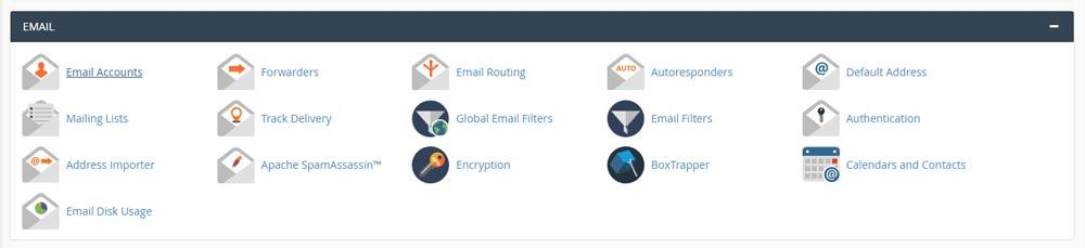 Web Hosting Guide - Email Functions