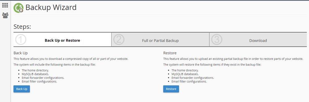 Web Hosting Guide - Website Backups