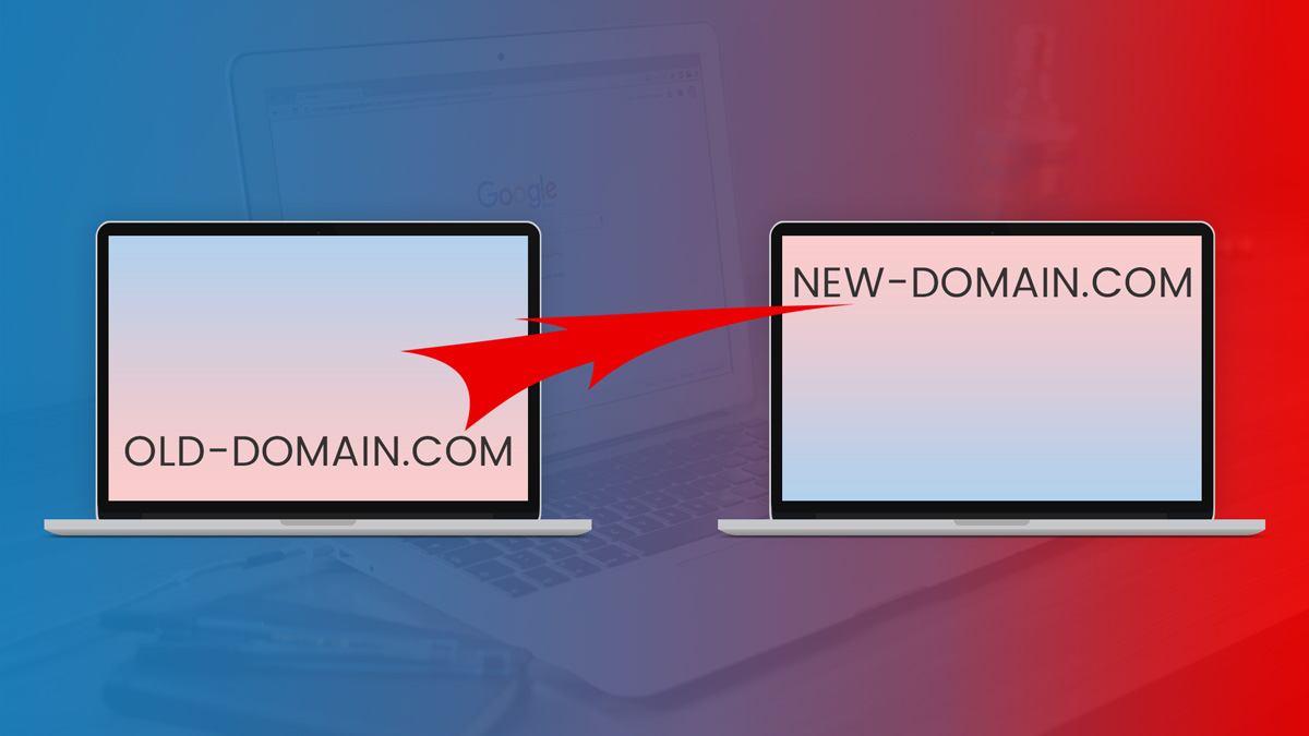 Change Domain Name And 301 Redirect