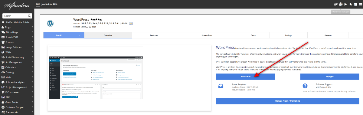 How To Build A Website 2 Install WordPress